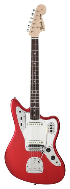 Fender American Vintage 65 Jaguar Candy Apple Red | Rainbow Guitars