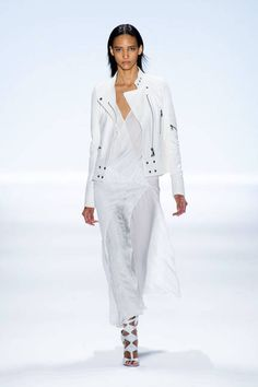 Richard Chai Love Spring 2014 Ready-to-Wear Collection: Am loving the white jacket