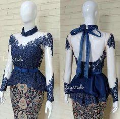 Kebaya Modern Dress, Kebaya Dress, Myanmar Traditional Dress, Traditional Dresses, Kebaya Brokat, Batik Kebaya, Sunday Dress, Fashion Outfits, Womens Fashion