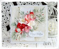 Scrap Art by Lady E: Christmas Cards - Wild Orchid Crafts DT