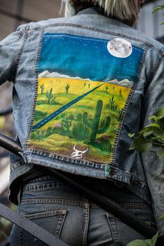 Painted Desert Jacket by LivingroomCompany on Etsy More
