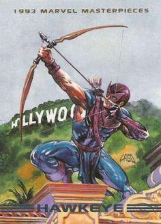 Hawkeye 1993 Marvel Masterpieces