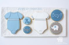 Baby set - Boy Or Girl? by Cookie Bliss (Laurie), via Flickr