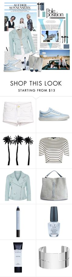 """""""POLE POSITION ON THE SUNSIDE OF LIFE"""" by kat969 ❤ liked on Polyvore featuring Victoria Beckham, Vans, Dot & Bo, Alexander Wang, Rebecca Minkoff, Maison Margiela, shu uemura, OPI, Smashbox and Dinh Van"""