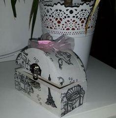 HanDia Box Decoupage Handmade