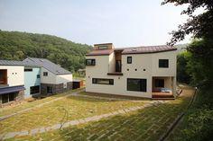 경기도 광주에 위치한 감각적인 전원주택 (출처 H.Cho)