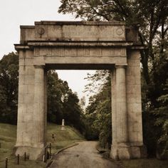 Entrance to the Vicksburg Battlefield National Monument in Mississippi