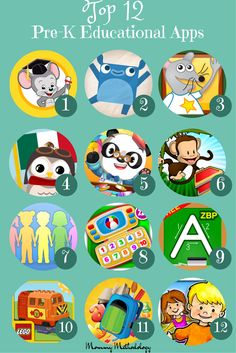 Top 12 Pre-K Educational Apps Android Learning Apps For Toddlers, Preschool Learning Activities, Fun Learning, Toddler Activities, Kindle Fire Apps, Abc Mouse, Android Tutorials, Android Tricks, Teacher Websites