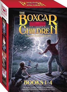 The Boxcar Children Books 1-4 by Gertrude Chandler Warner https://www.amazon.com/dp/0807508543/ref=cm_sw_r_pi_dp_x_C7adybQWDTJAD