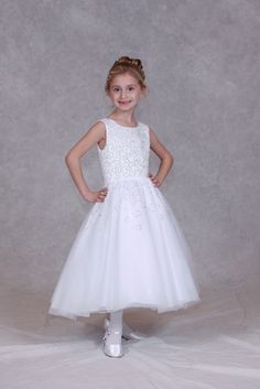 Beaded Communion Gown 472
