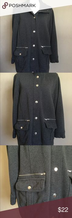 9727b827289 Belted back. Snap pockets with zipper trim. Perfect paired with jeans.  Gently worn but in excellent condition. Style   Co Jackets   Coats Utility  Jackets