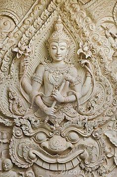 thai buddha   Buddha statue in Thai style molding art,Bangkok ,Thailand.