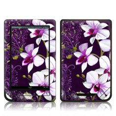 Barnes and Noble NOOK Tablet Skin - Violet Worlds by Kate Knight