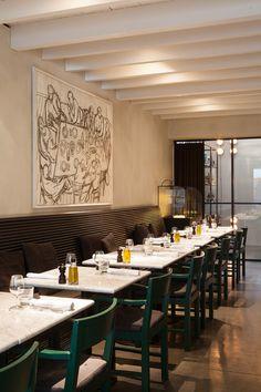 Graanmarkt 13 Restaurant In Antwerp Belgium By Vincent Van Duysen