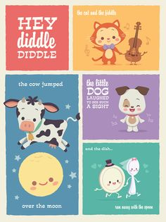 Kawaii Hey Diddle Diddle by Jerrod Maruyama