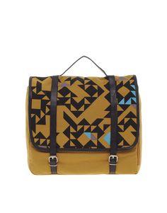 Kate Sheridan Triangle Print Backpack