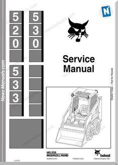 32 popular skid steer loader images heavy equipment, heavybobcat 530 533 skid steer loader service manual 6556407