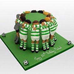 Birthday cake boys soccer 29 ideas for 2019 Fancy Cakes, Cute Cakes, Bolo Sporting, Beautiful Cakes, Amazing Cakes, Fondant Cakes, Cupcake Cakes, Cake Original, Rugby Cake