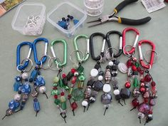 Keychain or Bag Charms by go2net, via Flickr. No DIY, but is easy to do.