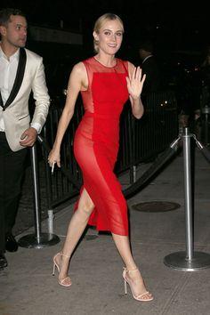 Diane Kruger MET GALA AFTERPARTY hugo boss