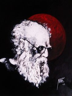 "Thanthai Periyar (Indian social activist) is an original, one-of-a-kind landscape painting signed by artist BALAJI. The piece of art was created recently and the painter used Acrylic. It measures ( 30"" x 36"" inch ) and is available for sale in our online art gallery"
