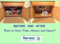 Want to save time, money and space in your cabinets? Check out Norwex to learn how!