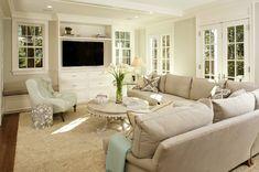 family room | Virginia Kitchens + Harry Braswell Inc.