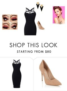 """Untitled #279"" by bryannaderosa ❤ liked on Polyvore featuring Lipsy and Yves Saint Laurent"