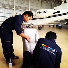 Color Glo Thailand repairs aircraft's!  #ColorGlo