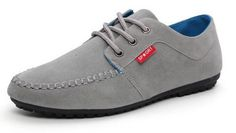Men's Suede Casual Walking Shoes