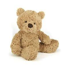 Jellycat bamse, Bumbly bjørn - 30 cm