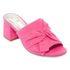 491bcb3e164f Worthington Freemont Womens Mules Pink Mules