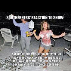 Southern snow days