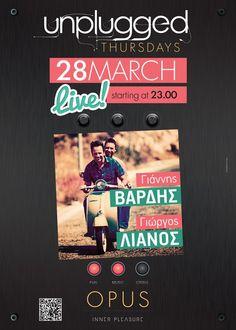 Giannis Vardis & Giorgos Lianos Live @ Opus
