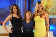 "The wonderful Carmen Carrera and actress Laverne Cox eloquently shut down Katie Couric offensive questions about their personal areas and their ""transition""."
