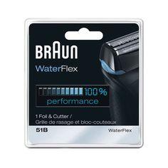 Braun 51B WaterFlex Shaver Foil and Cutter Combo
