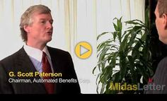 http://www.midasletter.com/2012/04/automated-benefits-chairman-g-scott-paterson-talks-cloud-computing-and-insurance-on-midas-letter-money/ Automated Benefits Corp. (TSX.V:AUT) Chairman G. Scott Paterson is the guest on Midas Letter Money in this segment recorded in Toronto.