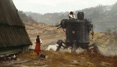 Roboter im Wald | Tracks ARTE