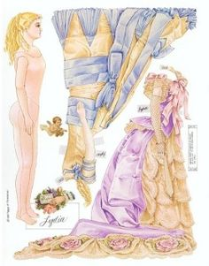 Category: 1870s - 19th Century Paper Dolls Lydia