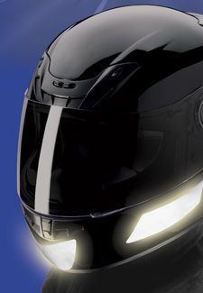 Scorpion Reflective Helmet Sticker Motorcycle Superstore Cafe - Reflective helmet decals