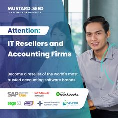 How tight is your profit margin? How do you build recurring revenue? Mustard Seed Systems distributes the world's leading accounting brands in the Philippines. Partner with us and expand your offering by building a software business. Whether you want to earn from implementation services or licenses, we have a program right for you. For inquiries, CONTACT: Catherine Erum Landline: (02) 8535 7333 Loc. 326 Mobile: +63 975 134 8815 Viber: +63 999 783 8980 Email: sales@mseedsystems.com Accounting Firms, Accounting Software, Sage 50, Existing Customer, Mustard Seed, Philippines, How To Become, Medium, Business