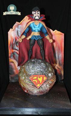 Marvelous Doctor Strange Cake made by Zoe's Fancy Cakes