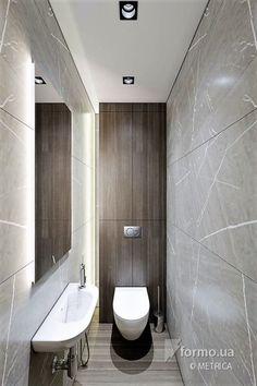 Квартира Веры, METRICA, Ванная/Санузел, Дизайн интерьеров Formo.ua Bathroom Design Luxury, Bathroom Layout, Modern Bathroom Design, Home Interior Design, Tiny Bathrooms, Beautiful Bathrooms, Small Bathroom, Wc Design, House Design