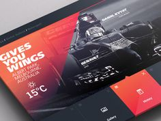 UI UX Design Inspiration will be shared. These UI and UX design will be able to help in your projects. We hope our reader will like this Inspiration post. World Weather, Tv App, App Ui, Wordpress, Albert Park, Sports Graphics, Ui Design Inspiration, Design Ideas, Ui Ux Design
