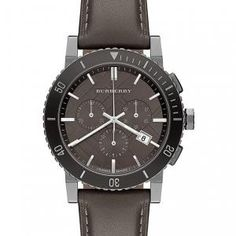 Burberry Check Stamped Chronograph Watch available at Nordstrom Cheap Watches For Men, Fancy Watches, Mens Watches For Sale, Cool Watches, Burberry Mens Watches, Burberry Watch, Mens Watches Leather, Seiko, Mens Watch Brands