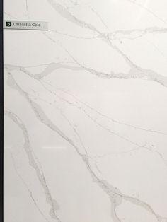 Calacatta Gold - Silestone Eternal Series via Cozy Stylish Chic Calcatta Quartz, Silestone Calacatta Gold, Silestone Countertops, Quartz Kitchen Countertops, Kitchen Cabinets, Gold Kitchen, Kitchen Tops, Kitchen Ideas, Kitchen Design