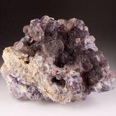 Fluorite and Quartz Crystal Cluster, Riemvasmaak North Cape South Africa