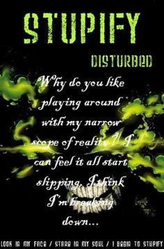 disturbed lyrics