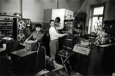 Bebe Barron's work (with her husband Louis) defines one of the most essential tape music movements in history. A fresh-faced John Cage even produced his first work with magnetic tape ('Williams Mix') in their studio, under Bebe's guiding encouragement. The Barron's practice of layering manipulated sounds from several different tape machines can be seen today in the multi-tracking practices so fundamental to our recording studios.