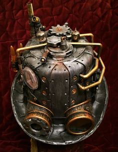 Steampunk Hat Power Armor Elite #2 Cosplay Tesla Victorian Fallout